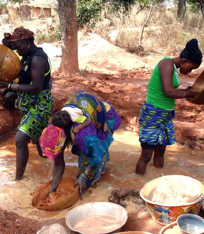 Mali - site orpaillage 5