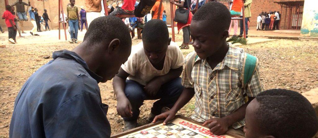 Centre pour les enfants des rues de Bukavu
