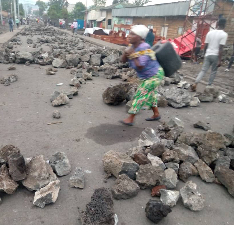 Goma affrontements RDC