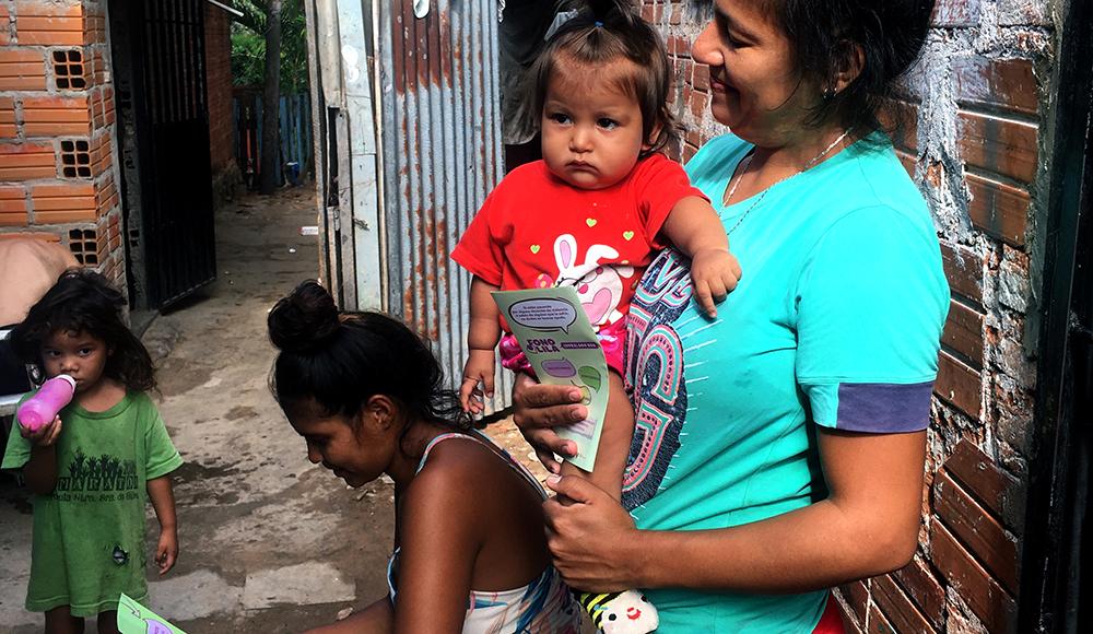 Paraguay - sensibilisation lutte contre la violence