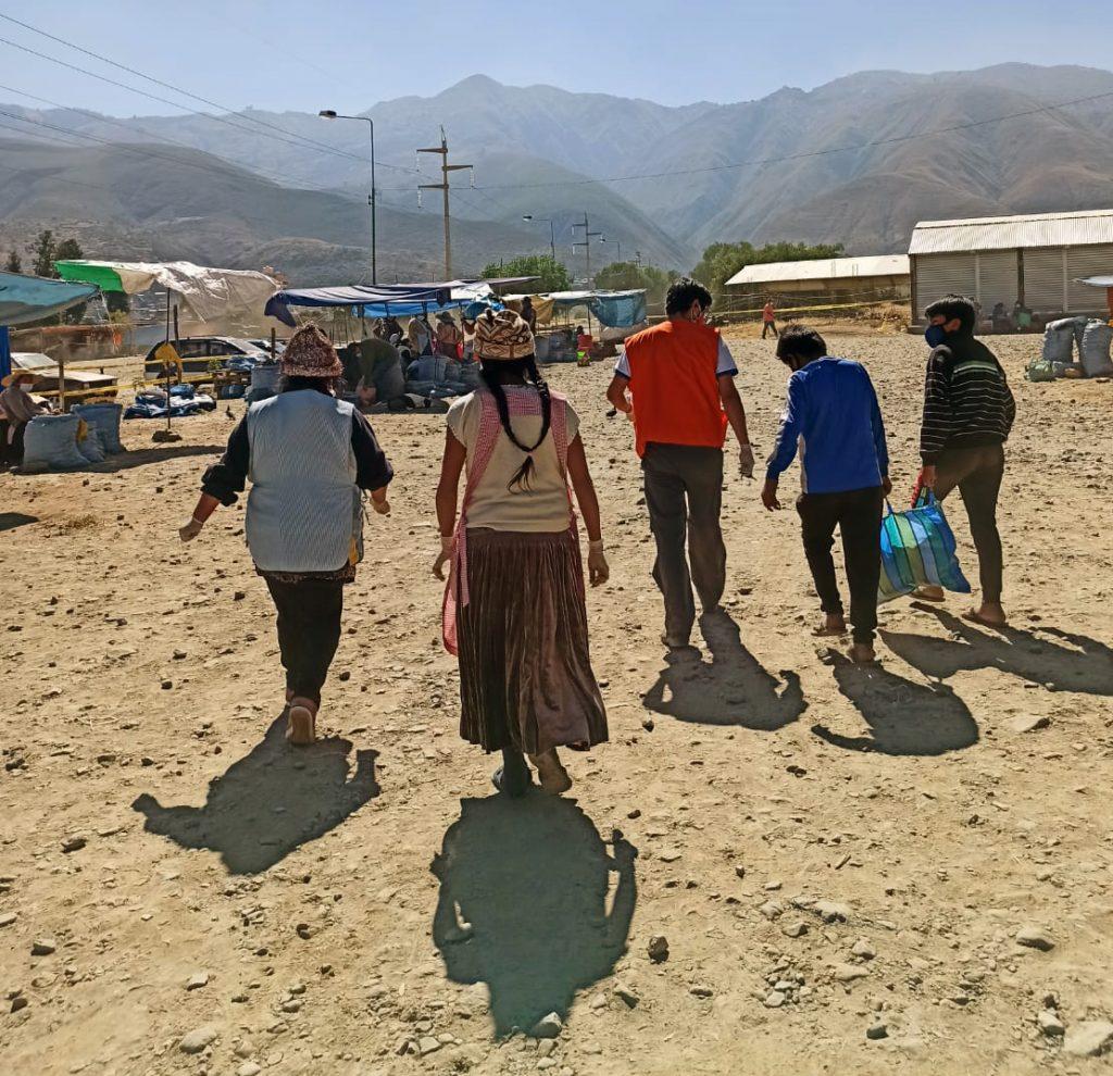 Bolivie aide Covid-19