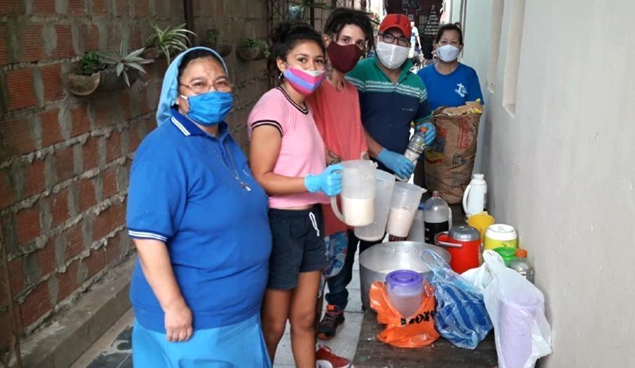 bidonvilles argentine - aide alimentaire