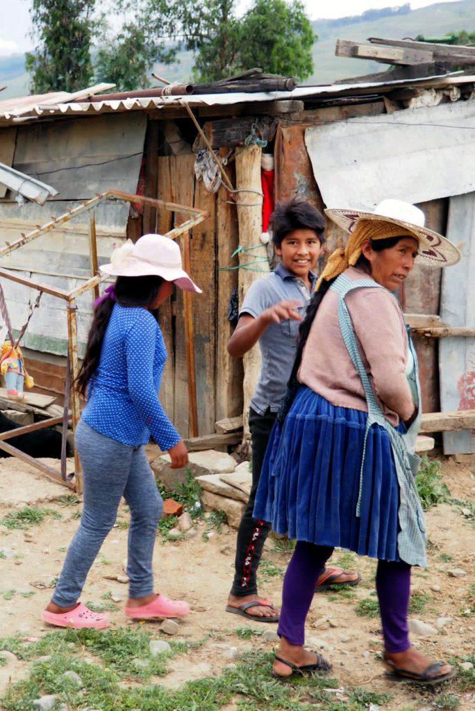 Bolivie - familles quechua