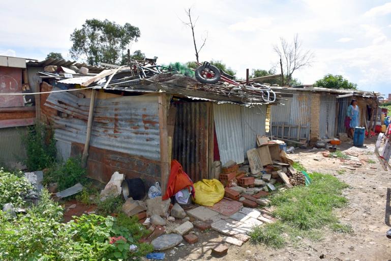 Bolivie aide Covid-19 - maison de Alfredo