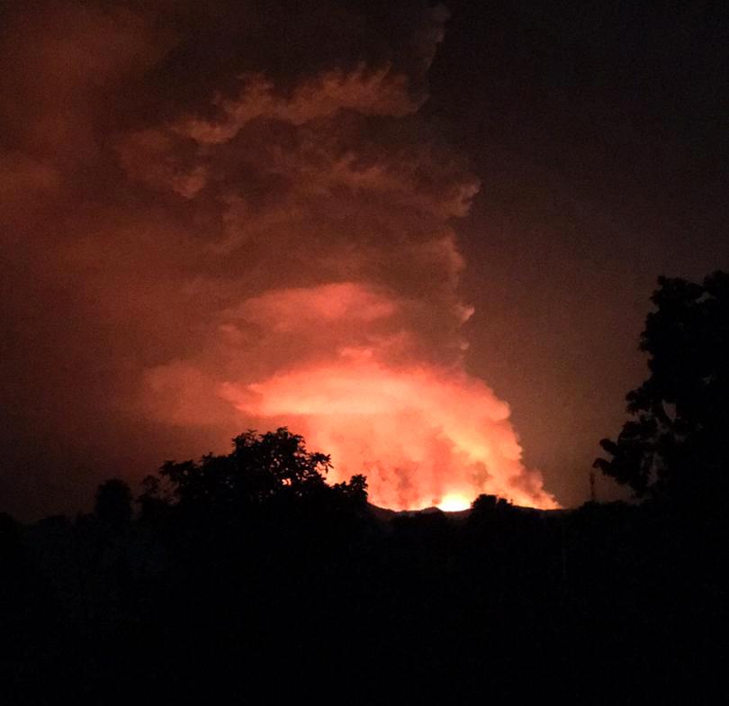 RDC - Goma éruption volcanique