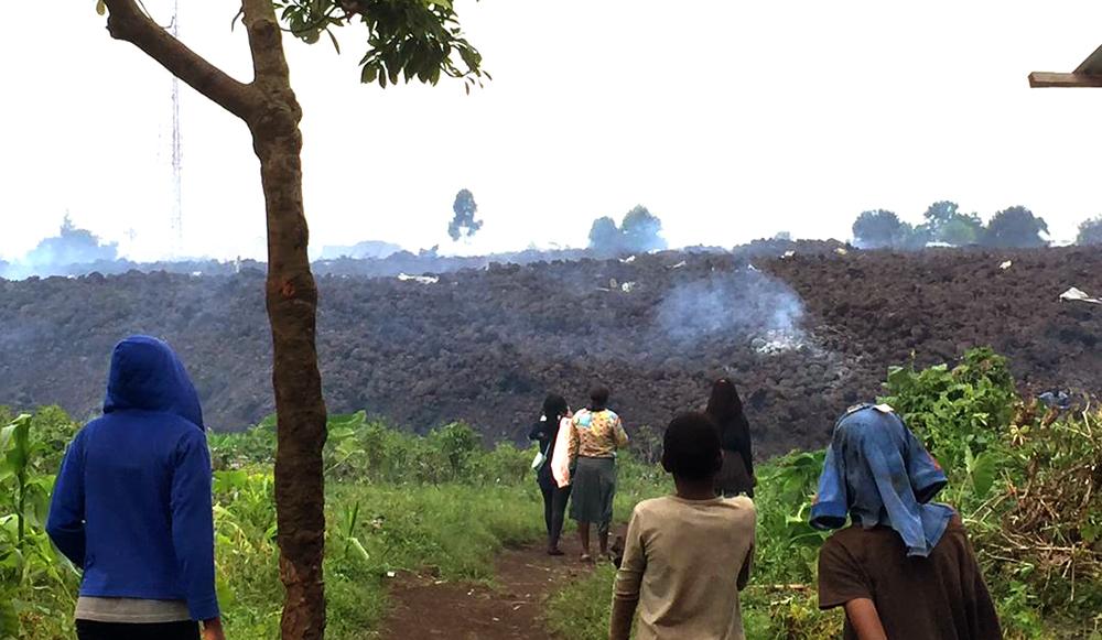 Goma RDC eruption volcanique