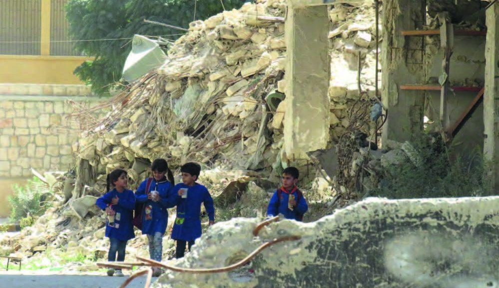 Enfants dans la guerre