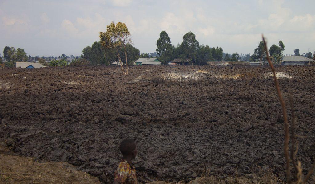 Goma - volcan evacuation
