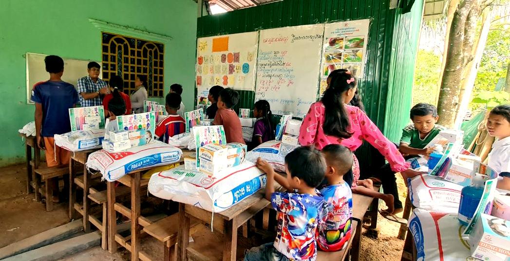 Classe d'éducation non formelle Cambodge