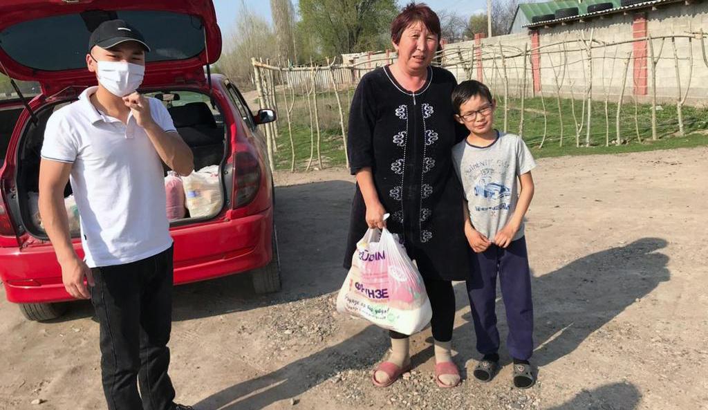 Kirghizstan initiatives covid