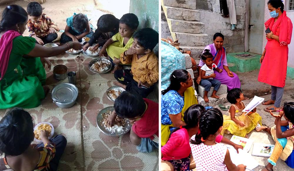Inde - crèches communautaires