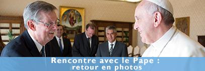 le Pape François reçoit le BICE en audience privée - photos de la journée