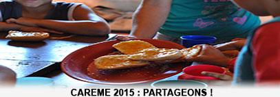 Carême 2015 sous le signe du partage avec le BICE