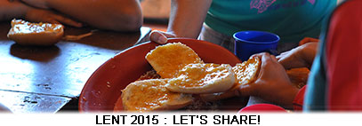 Lent 2015 on the theme of exchange with the BICE