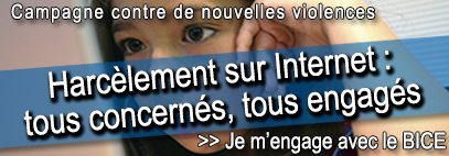 contre le cyberharcèlement je m'engage